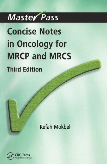 Concise Notes in Oncology for MRCP and MRCS book cover