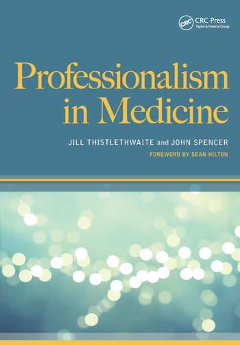 Professionalism in Medicine book cover
