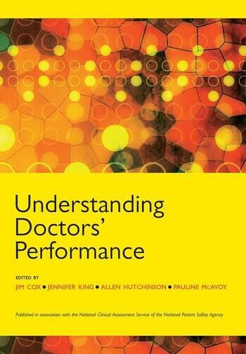 Understanding Doctors' Performance book cover