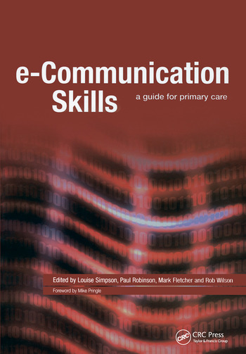 E-Communication Skills A Guide for Primary Care book cover