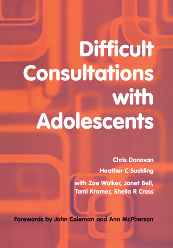 Difficult Consultations with Adolescents book cover