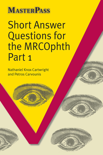 Short Answer Questions for the MRCOphth Part 1 book cover