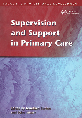 Supervision and Support in Primary Care book cover