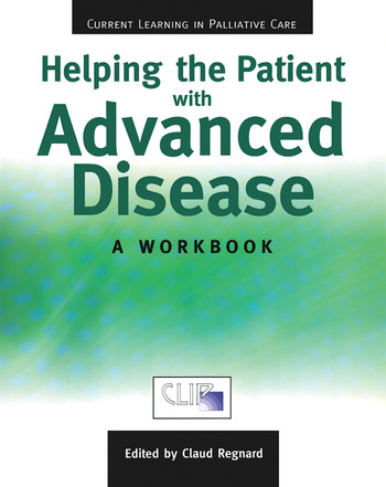 Helping The Patient with Advanced Disease A Workbook book cover