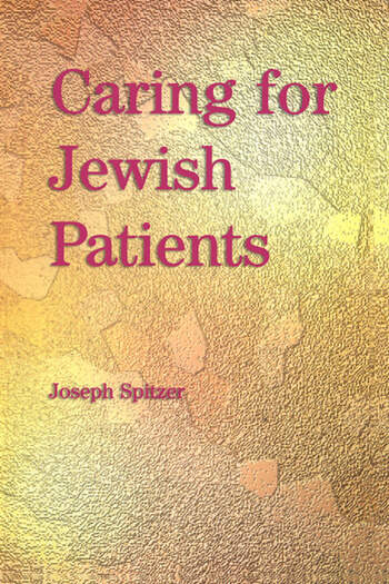 Caring for Jewish Patients book cover