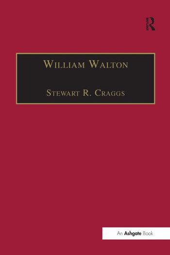 William Walton Music and Literature book cover