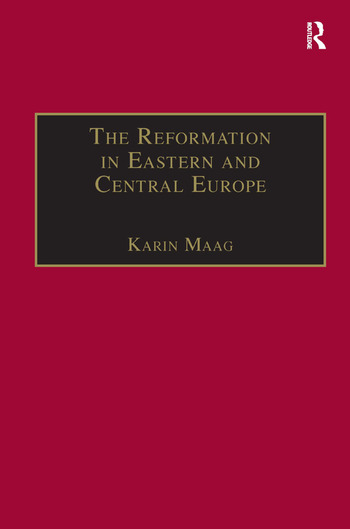The Reformation in Eastern and Central Europe book cover