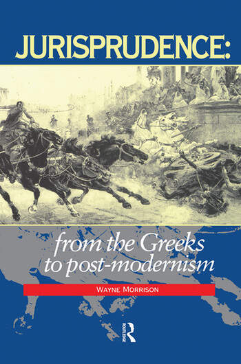 Jurisprudence From The Greeks To Post-Modernity book cover