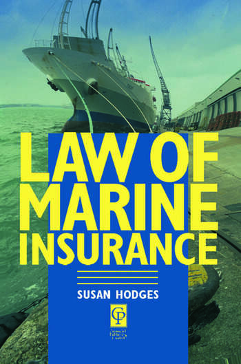 Law of Marine Insurance book cover