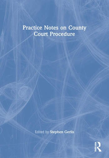 Practice Notes on County Court Procedure book cover