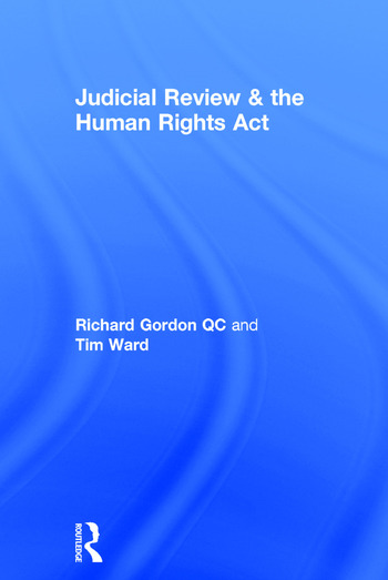Judicial Review & the Human Rights Act book cover