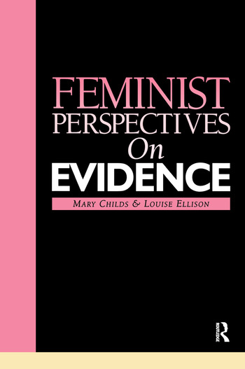Feminist Perspectives on Evidence book cover