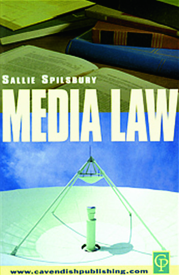 Media Law book cover
