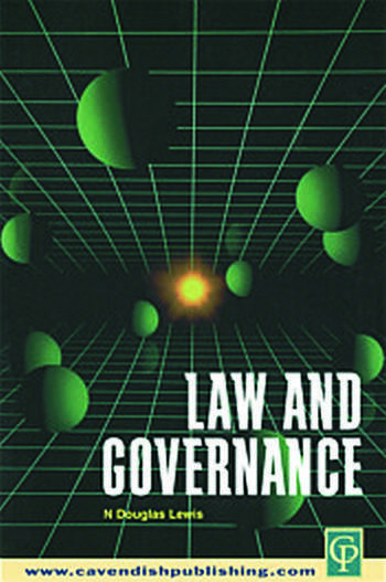 Law and Governance book cover