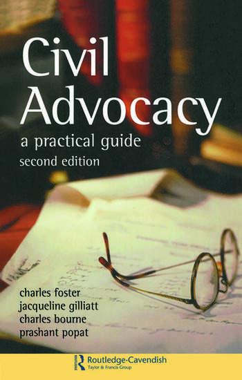 Civil Advocacy book cover