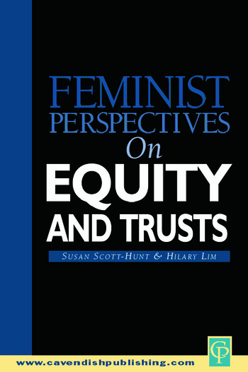 Feminist Perspectives on Equity and Trusts book cover