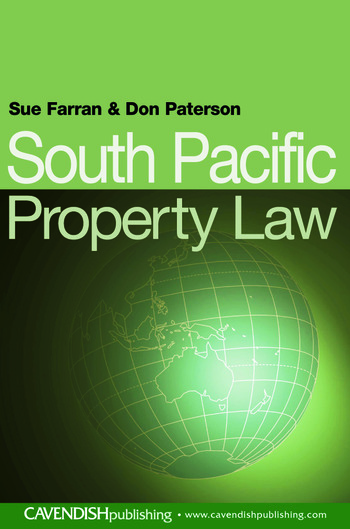 South Pacific Property Law book cover