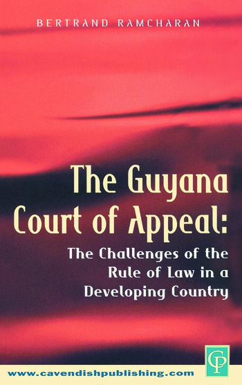 The Guyana Court of Appeal book cover