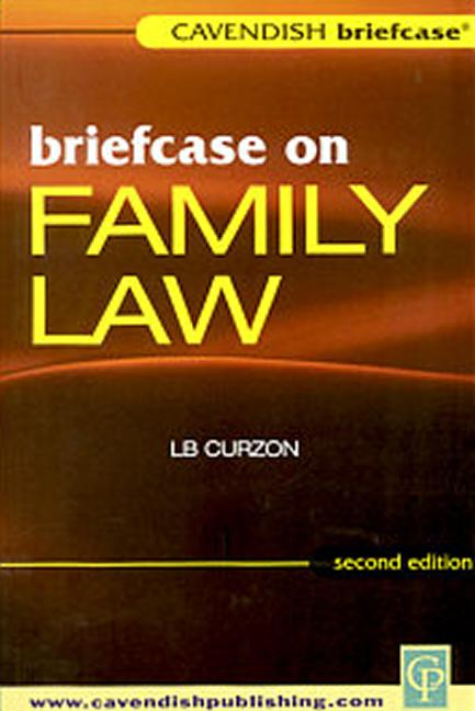 Briefcase on Family Law book cover