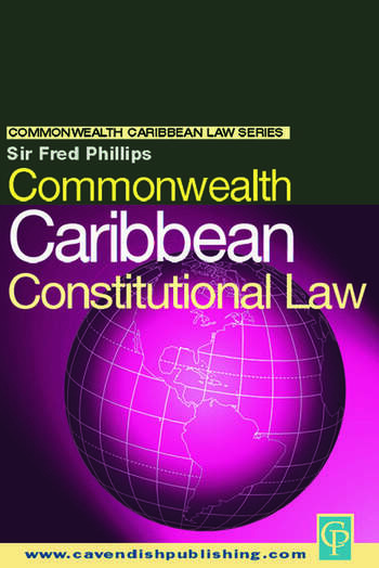 Commonwealth Caribbean Constitutional Law book cover