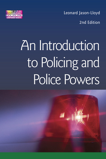 Introduction to Policing and Police Powers book cover