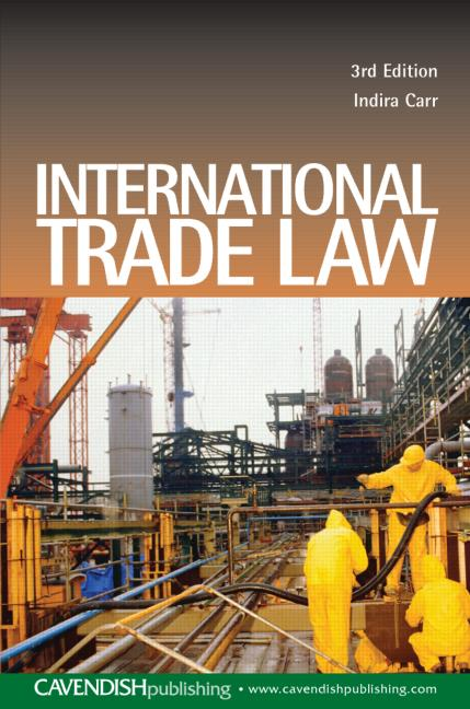 International Trade Law book cover