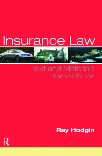 Insurance Law Text and Materials book cover