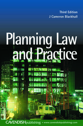 Planning Law and Practice book cover