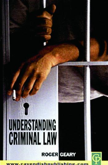 Understanding Criminal Law book cover