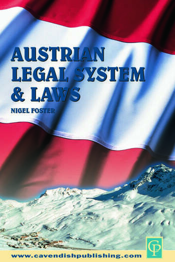 Austrian Legal System and Laws book cover
