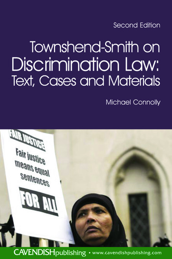 Townshend-Smith on Discrimination Law Text, Cases and Materials book cover