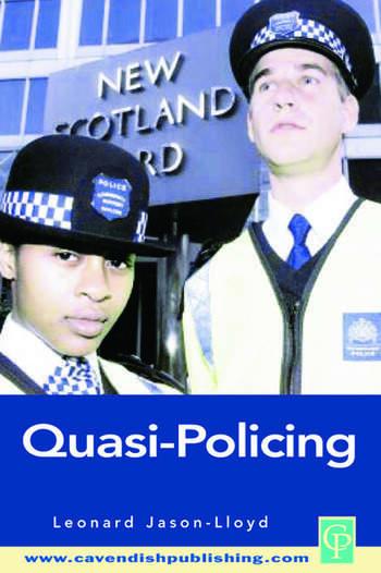 Quasi-Policing book cover