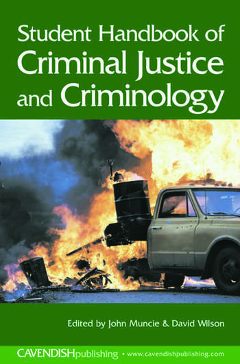 Student Handbook of Criminal Justice and Criminology book cover