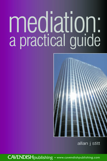 Mediation A Practical Guide book cover