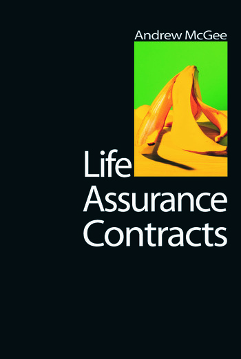 Life Assurance Contracts book cover