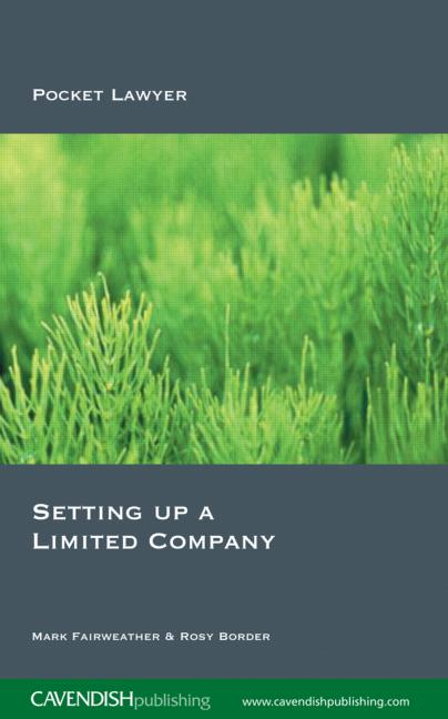 Setting Up a Limited Company book cover