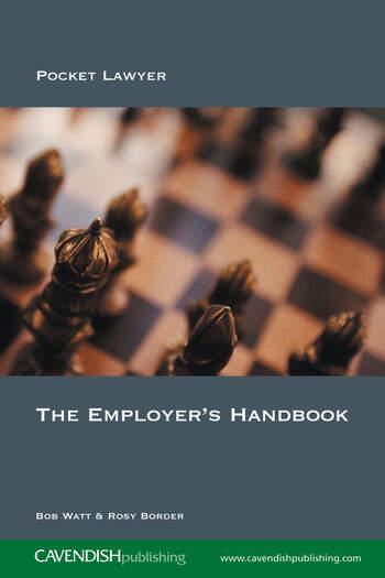 The Employer's Handbook book cover
