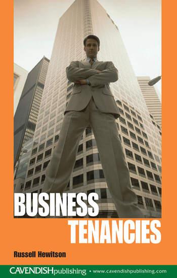Business Tenancies book cover