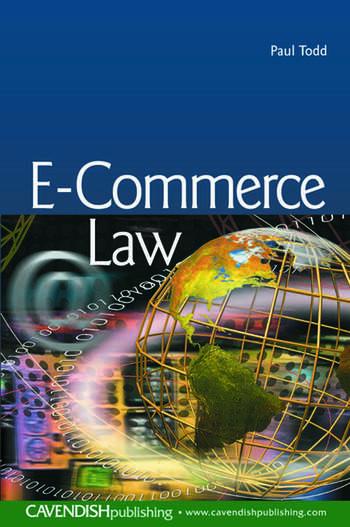 E-Commerce Law book cover