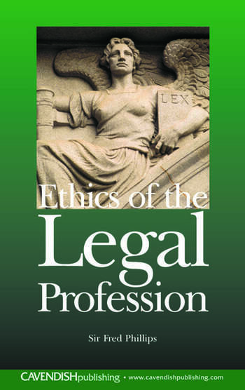 Ethics of the Legal Profession book cover