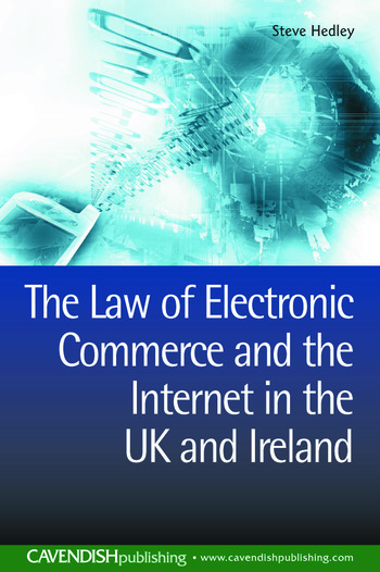 The Law of Electronic Commerce and the Internet in the UK and Ireland book cover