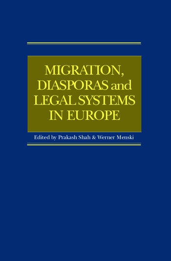 Migration, Diasporas and Legal Systems in Europe book cover