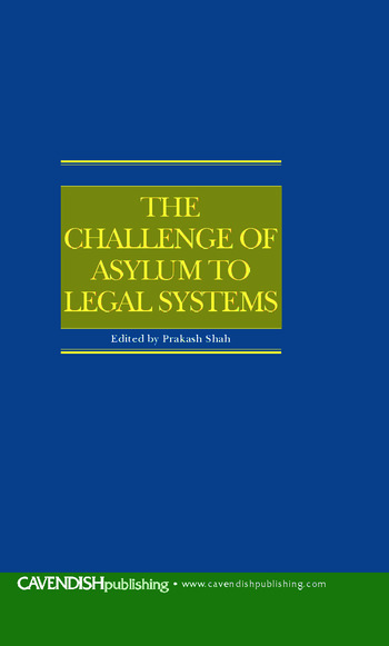 The Challenge of Asylum to Legal Systems book cover