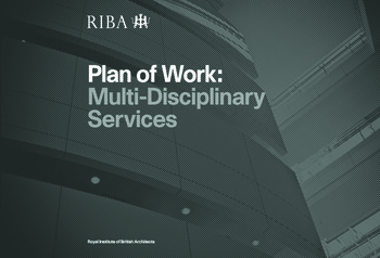 Architect's Plan of Work book cover