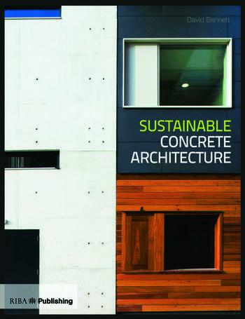 Sustainable Concrete Architecture book cover