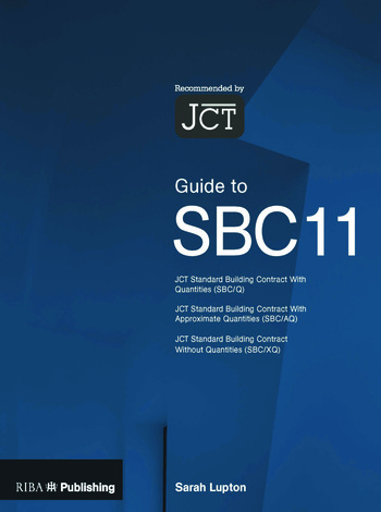 Guide to the JCT Standard Building Contract book cover