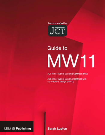 Guide to the JCT Minor Works Contract book cover