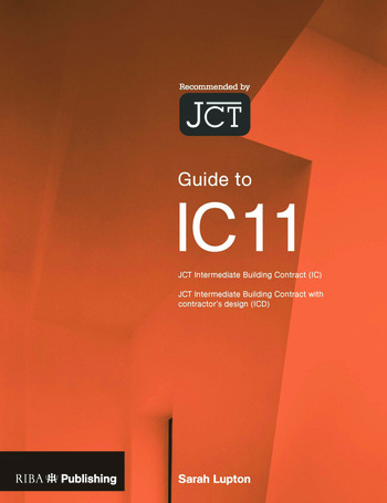 Guide to the JCT Intermediate Building Contract book cover
