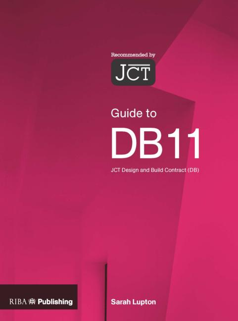 Guide to the JCT Design and Building Contract book cover