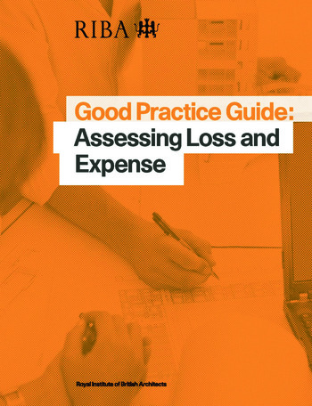 Good Practice Guide: Assessing Loss and Expense book cover